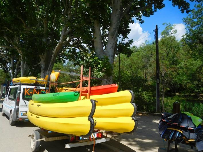 Location de vacances - Maison - Villa à Correns - Canoë-kayak