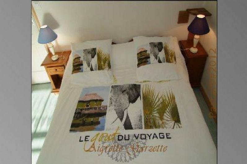 Location de vacances - Gîte à Pleudihen-sur-Rance - chambre lit 160/200 ou 2 lits 0,80/200