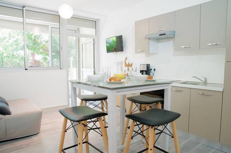 Location de vacances - Appartement à Le Grau-du-Roi - Appartement rdc de la résidence jusqu'à 6 personnes (climatisé)
