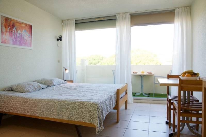 Location de vacances - Appartement à Le Grau-du-Roi - Nos studios de 2 à 4 personnes au second étage vue sur mer (climatisés)