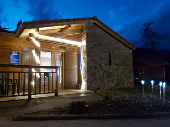 Location de vacances - Chalet à Mercus-Garrabet - L'accueil