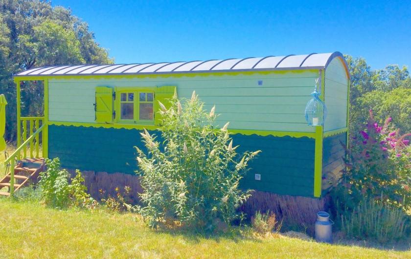 Location de vacances - Mas à Simeyrols - Hébergement insolite, studio autonome pour 2 pers. ou Chbre suppl. pour le gite
