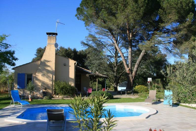 Location de vacances - Villa à Comps - Maison de Vacances avec piscine privée à Comps (Gard- France)
