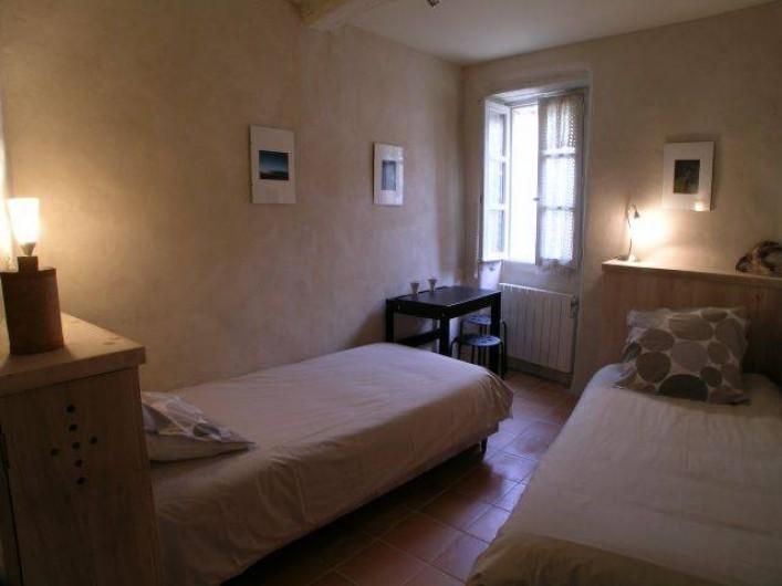 Location de vacances - Gîte à Lectoure - La chambre au rez-de-chaussée