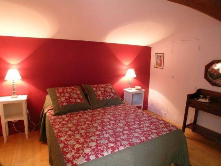 Location de vacances - Gîte à Lectoure - La chambre à l'étage