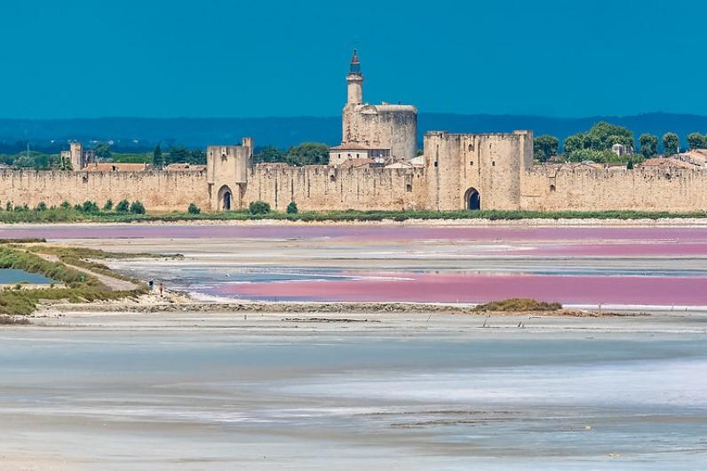 Location de vacances - Gîte à Arles - Les rempart de la cité de st Louis : Aigues Mortes