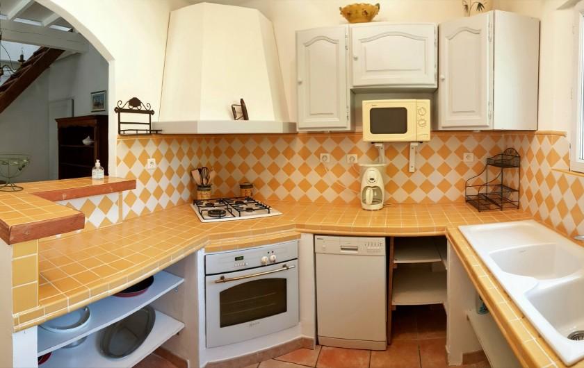 Location de vacances - Gîte à Arles - cuisine