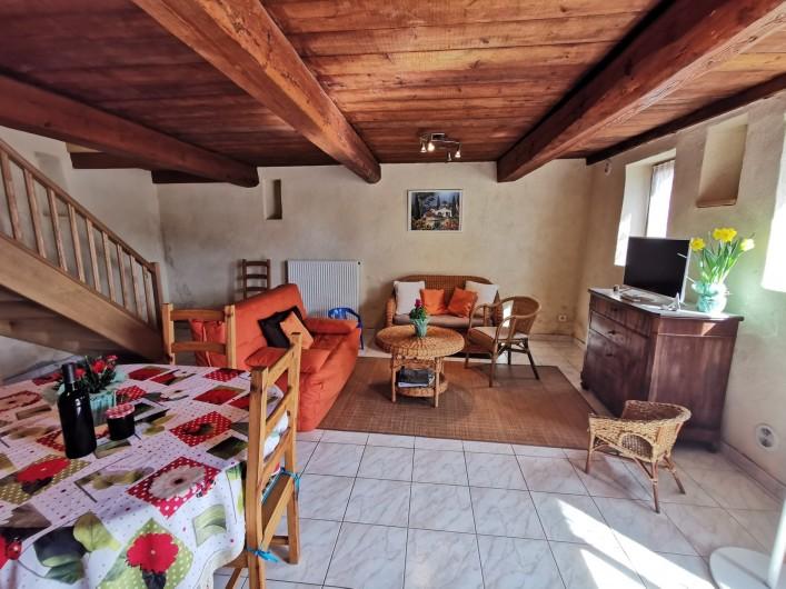 Location de vacances - Gîte à La Livinière - pièce principale Les Amandiers