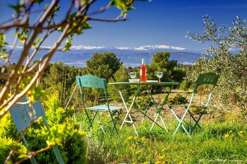 Location de vacances - Gîte à La Livinière - Terrasse Les Pins