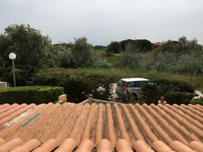 Location de vacances - Villa à Le Barcarès - Vue de la chambre 1 er étage