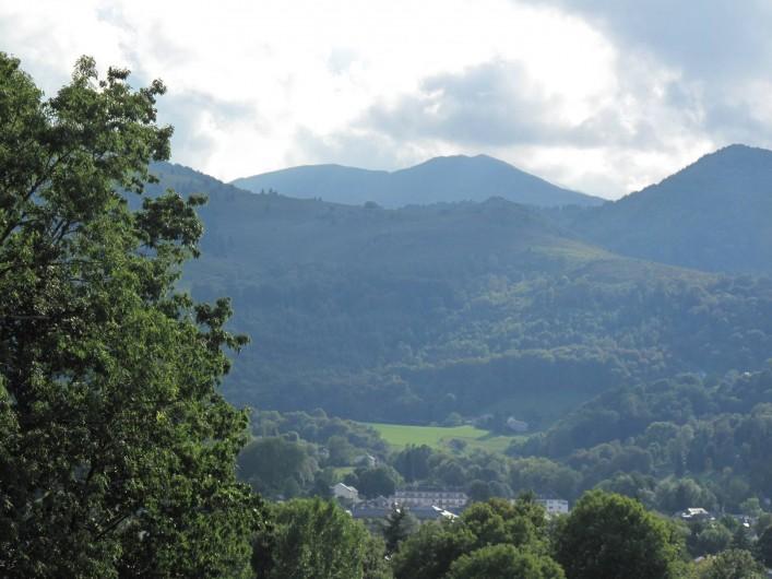 Location de vacances - Studio à Bagnères-de-Bigorre - Vue depuis le studio