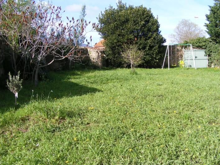 Location de vacances - Maison - Villa à Sorède - Le jardin, portique