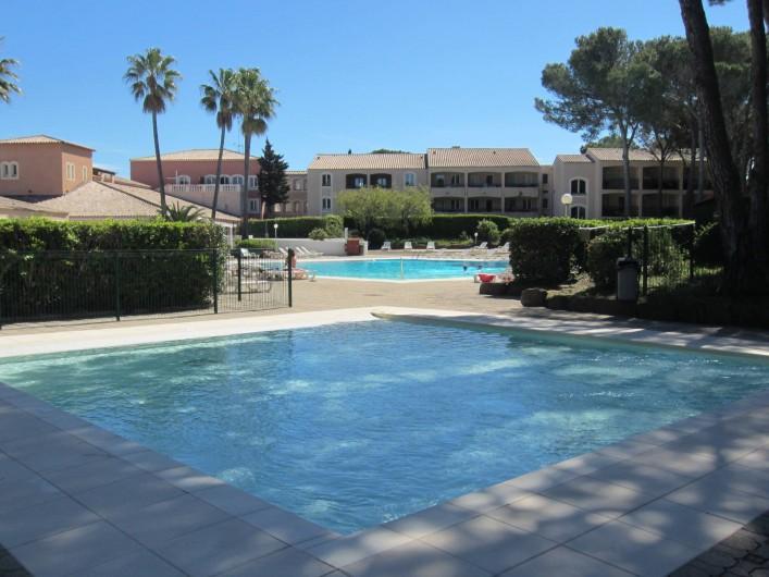 Location de vacances - Studio à Saint-Raphaël - le bassin enfants
