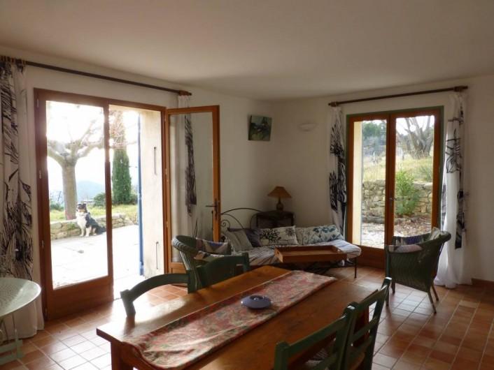Location de vacances - Maison - Villa à Suzette - LE CLOS