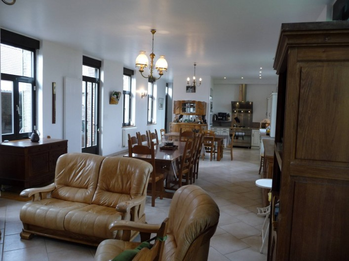 Location de vacances - Gîte à Mons-Boubert - Le grand séjour