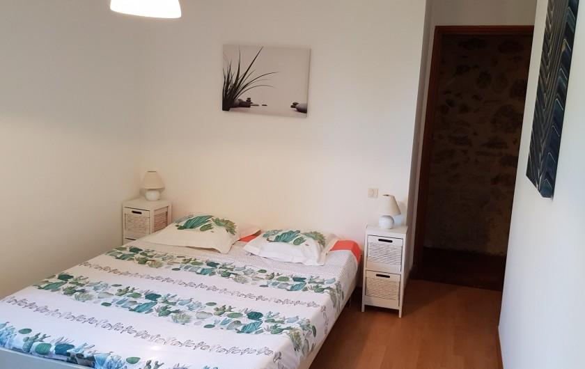 Location de vacances - Villa à Marsolan - Chambre 1 (lit double)