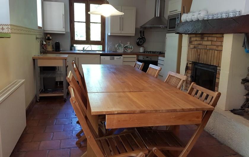 Location de vacances - Villa à Marsolan - La cuisine