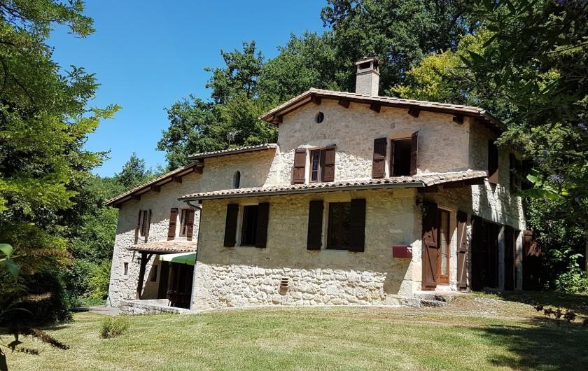 Location de vacances - Villa à Marsolan - Façade ouest