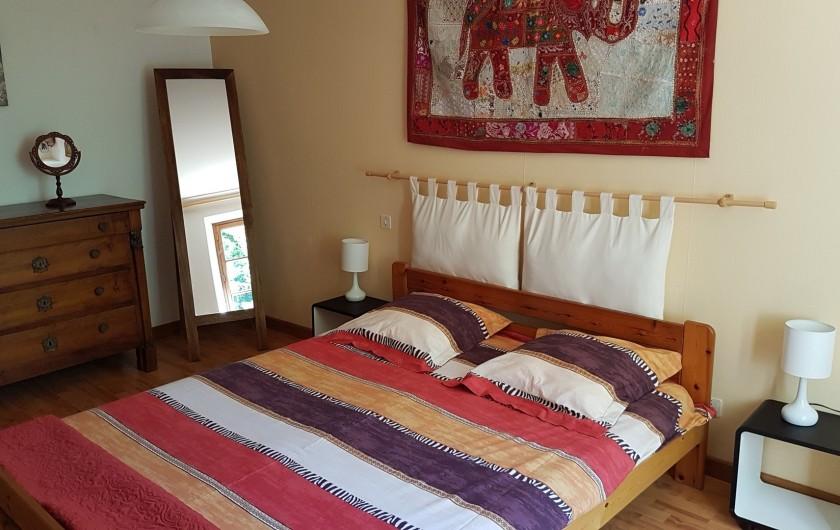 Location de vacances - Villa à Marsolan - Chambre 2 (lit double)