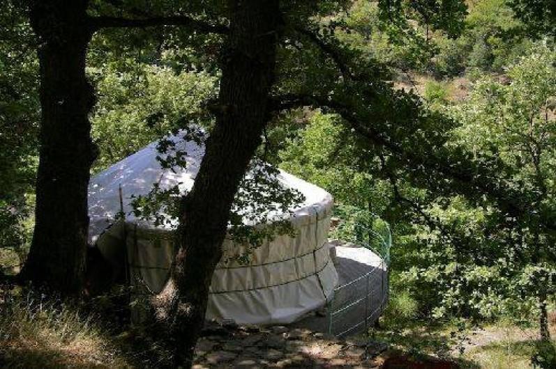 Location de vacances - Yourte à Graissessac