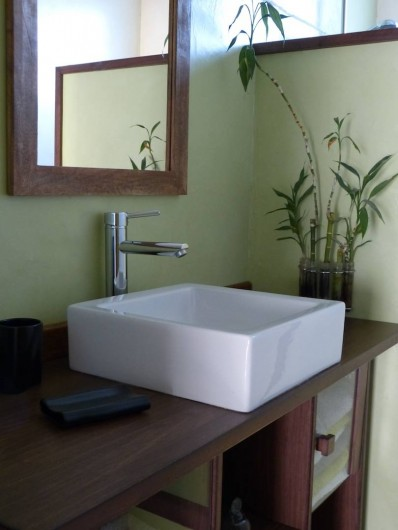 Location de vacances - Appartement à Toulouse - Salle de bain