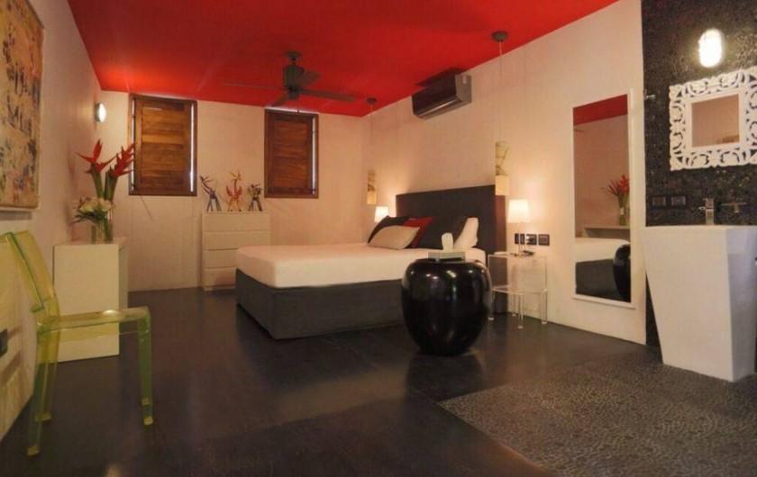 Location de vacances - Chambre d'hôtes à Puerto Escondido - Chambre double