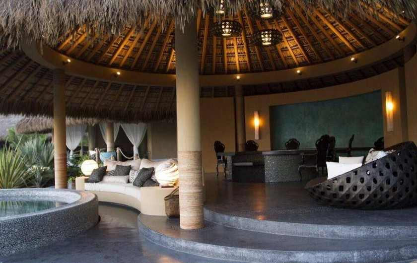 Location de vacances - Chambre d'hôtes à Puerto Escondido - Vue du Club de Plage