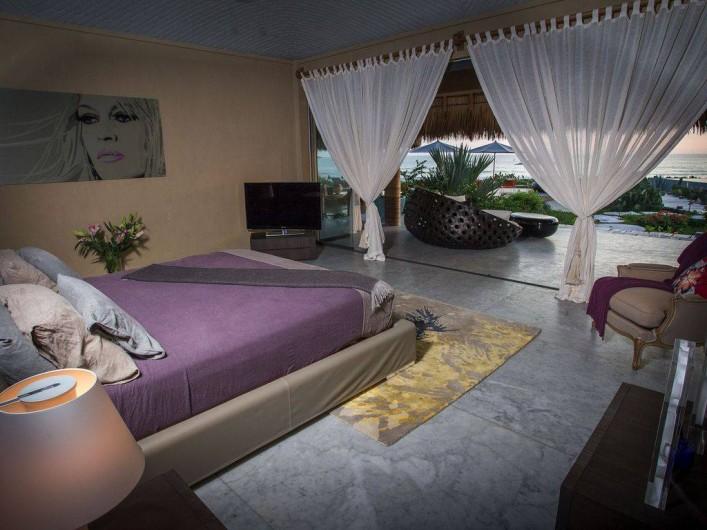 Location de vacances - Chambre d'hôtes à Puerto Escondido - Chambre Master
