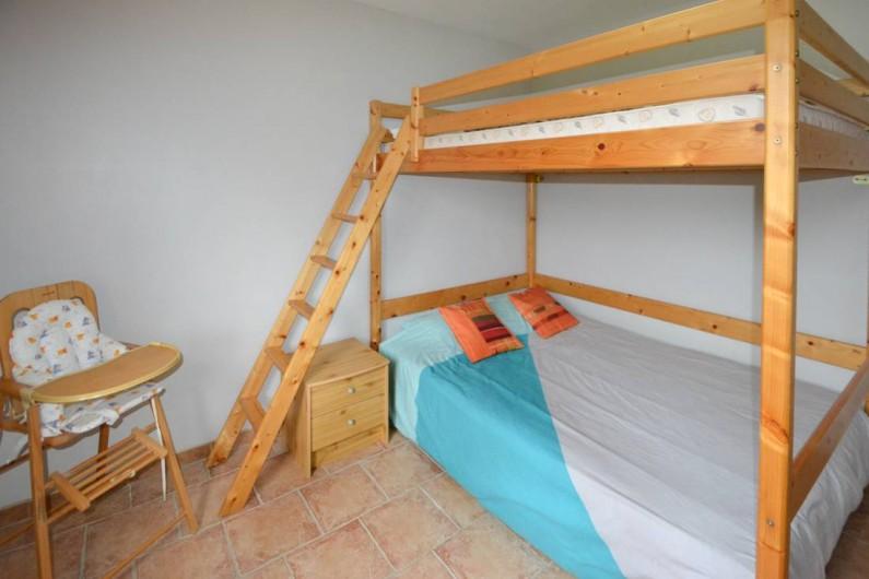 """Location de vacances - Villa à Saint-Martin-d'Ardèche - chambre """"enfants""""  2 lits en 140"""
