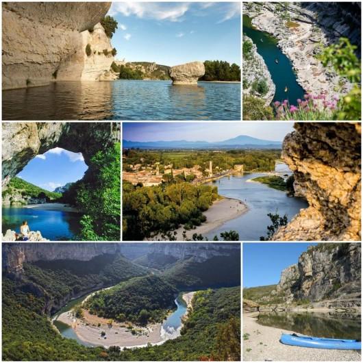 Location de vacances - Villa à Saint-Martin-d'Ardèche - les Gorges...à Voir absolument