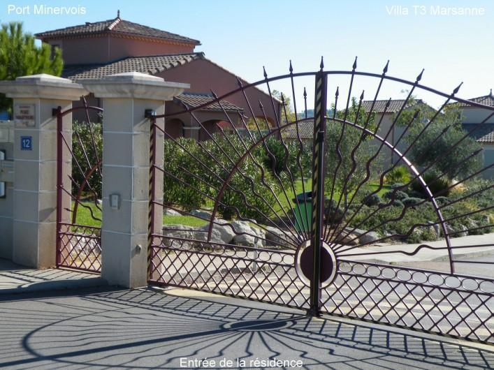 Location de vacances - Villa à Homps - Entrée sécurisée