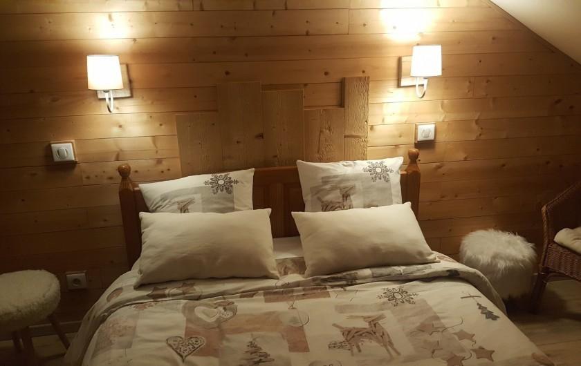 Location de vacances - Appartement à Gérardmer - tête de lit