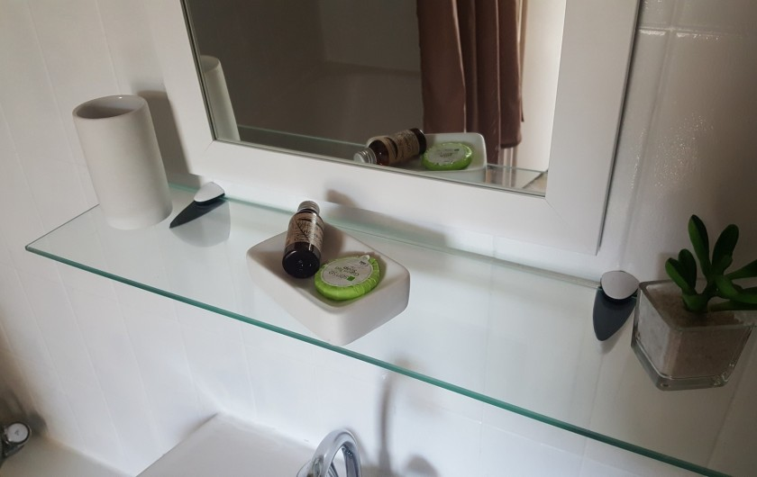 Location de vacances - Appartement à Gérardmer - shampoing et savon fournis