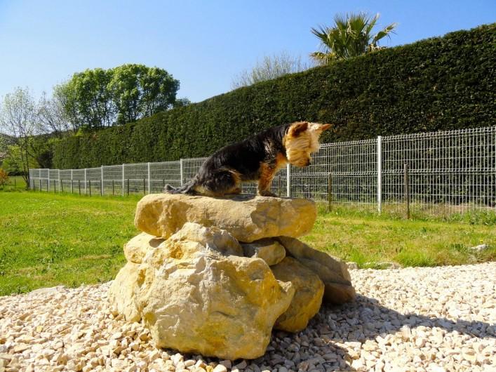 Location de vacances - Villa à Rousson - Jardin clôturé pr la sécurité de vos enfts...& de vos compagnons à 4 pattes