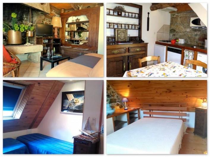 Location de vacances - Gîte à Perros-Guirec - maison typique, confortable, label 3*,  décoration soignée et charme