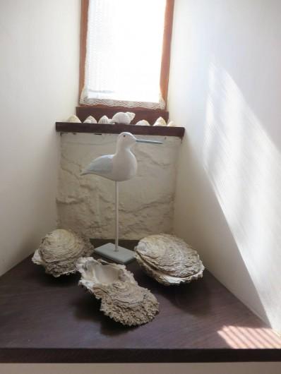 Location de vacances - Gîte à Perros-Guirec - décor marin du séjour gite tiploum Ploumanach perros-guirec