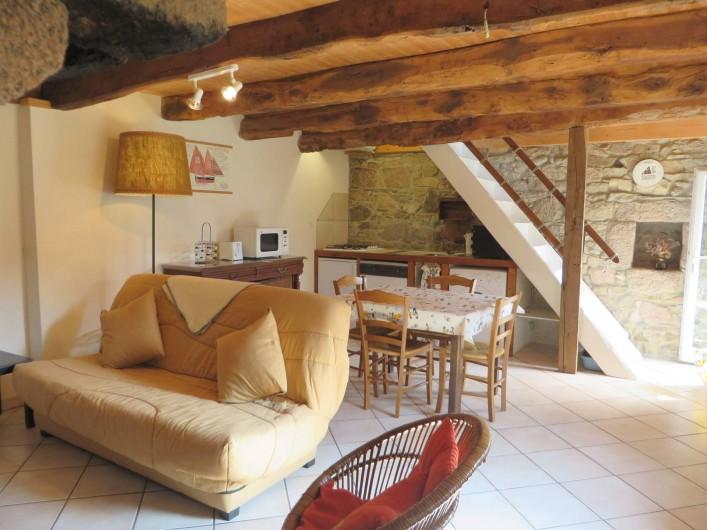 Location de vacances - Gîte à Perros-Guirec - séjour de la maison des pêcheurs à 100m de la plage, Perros guirec, Bretagne