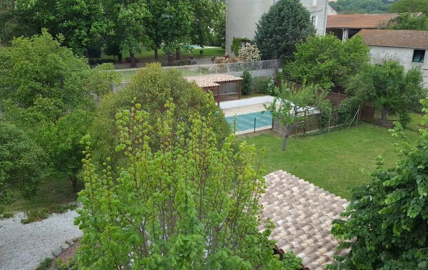 Location de vacances - Appartement à Pomas - vue du toit