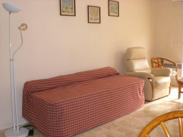 Location de vacances - Appartement à Arcachon - Séjour deux lits 1 personne