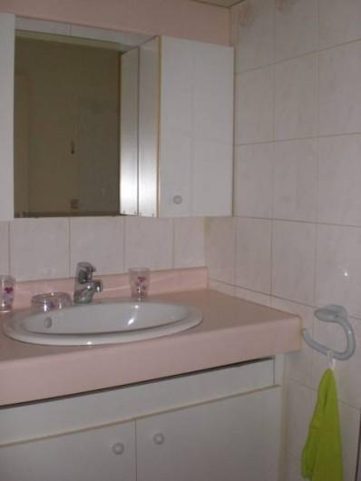 Location de vacances - Appartement à Arcachon - Salle de bain