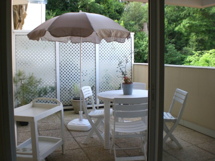 Location de vacances - Appartement à Arcachon - Terrasse