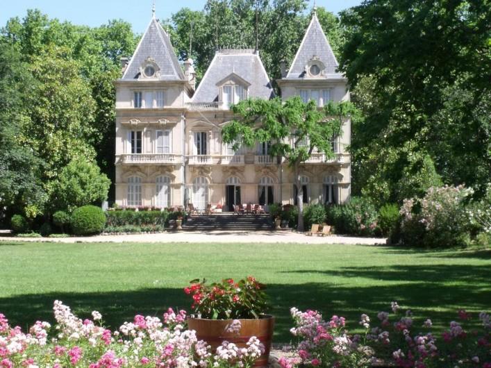 Location de vacances - Maison - Villa à Bessan - Arrival view