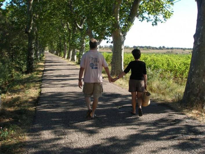 Location de vacances - Maison - Villa à Bessan - walking  to the market