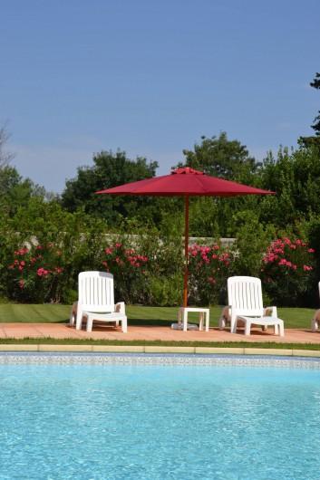 Location de vacances - Maison - Villa à Bessan - Relax at the pool