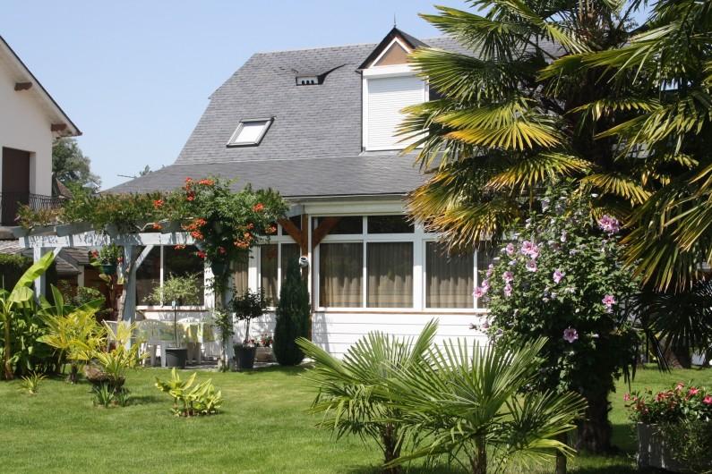 Location de vacances - Gîte à Lourdes - vue du gite de face