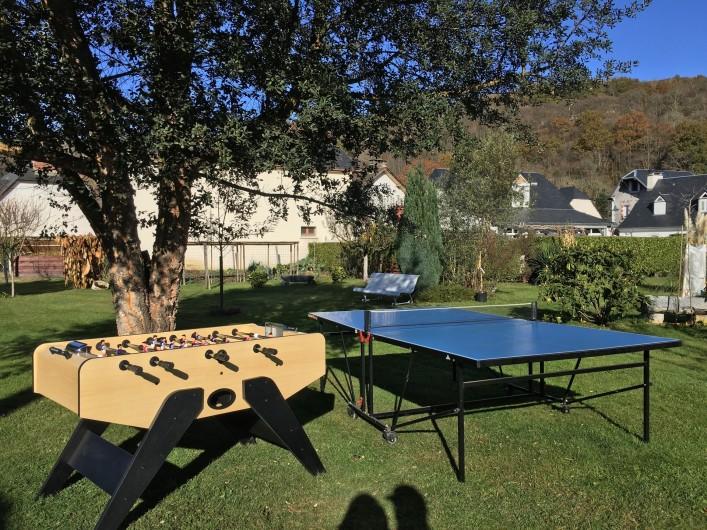 Location de vacances - Gîte à Lourdes - jeux a disposition