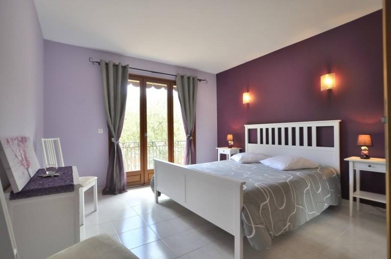 Location de vacances - Villa à Menton - Chambre 1