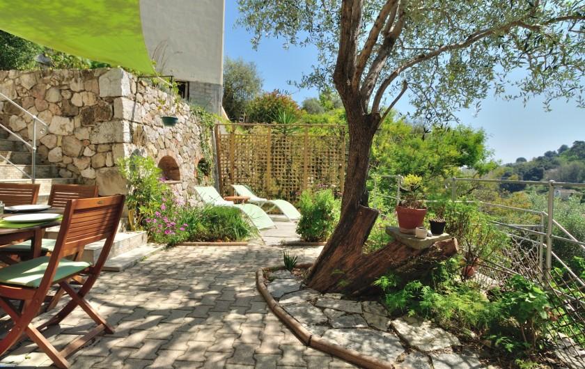 Location de vacances - Villa à Menton - Terrasse