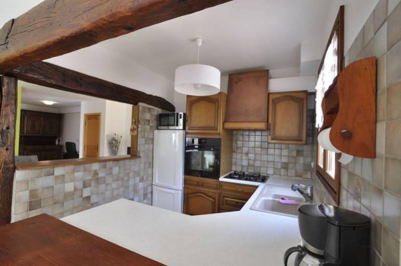Location de vacances - Villa à Menton - Cuisine tout équipée