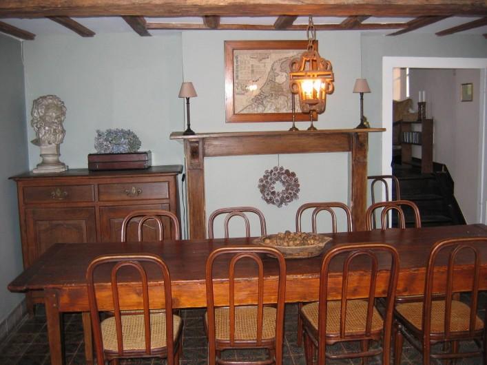 Location de vacances - Maison - Villa à Falaen - salle à manger